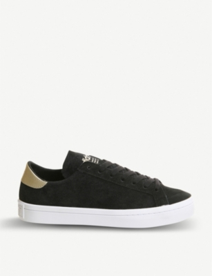 ADIDAS Court vantage suede trainers