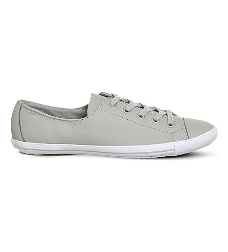 b92f58320fbc CONVERSE CT Lite 2 low-top trainers (Ash+grey+leather