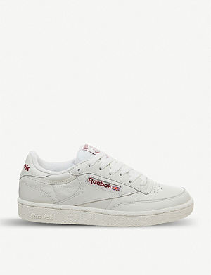 3426fccfa4d REEBOK - Workout Ripple leather trainers