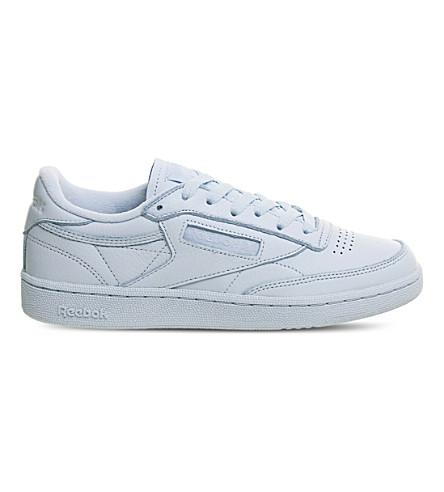 4baf7b3b6ea05e REEBOK Club C 85 Elm leather sneakers (Fresh+blue+elm