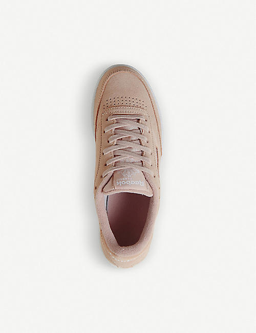 REEBOK Club C 85 leather trainers
