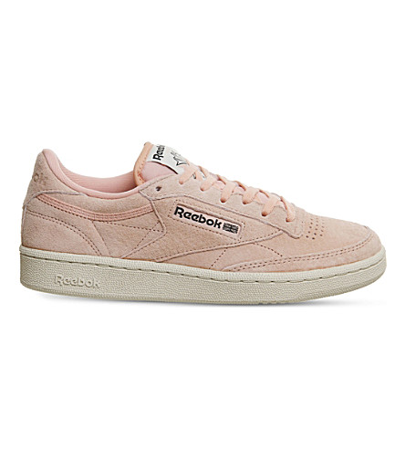 ad59b46305d ... REEBOK Club C 85 nubuck trainers (Desert+stone+suede. PreviousNext