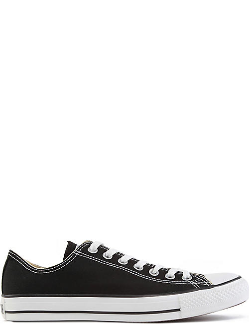 CONVERSE: All Star low-top canvas trainers