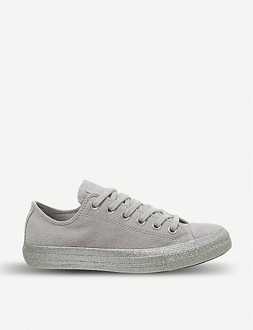 92b5089a8484 CONVERSE All Star low top suede trainers