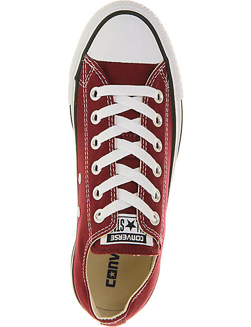 CONVERSE All Star low-top canvas trainers