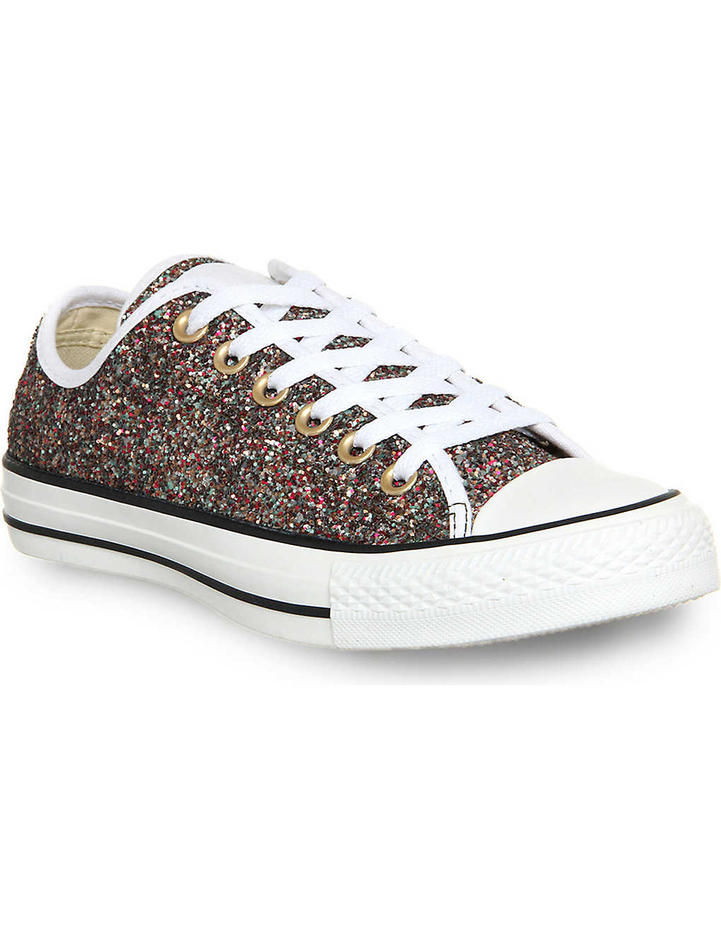 ec57b9881c837 CONVERSE - All star low-top sequin trainers | Selfridges.com