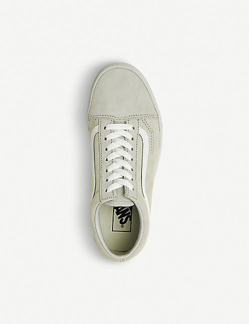 VANS Old Skool suede and canvas trainers