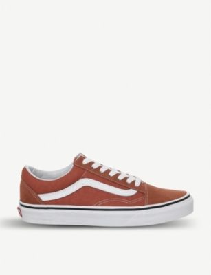 VANS Old School canvas and suede trainers