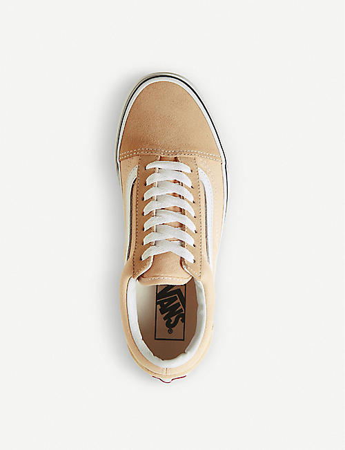 VANS Old Skool canvas and suede trainers