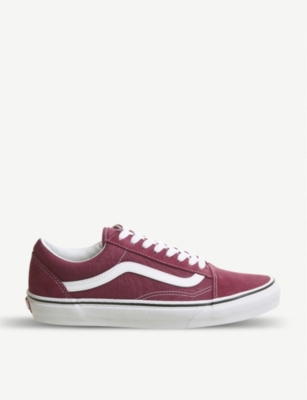 VANS Old Skool suede trainers