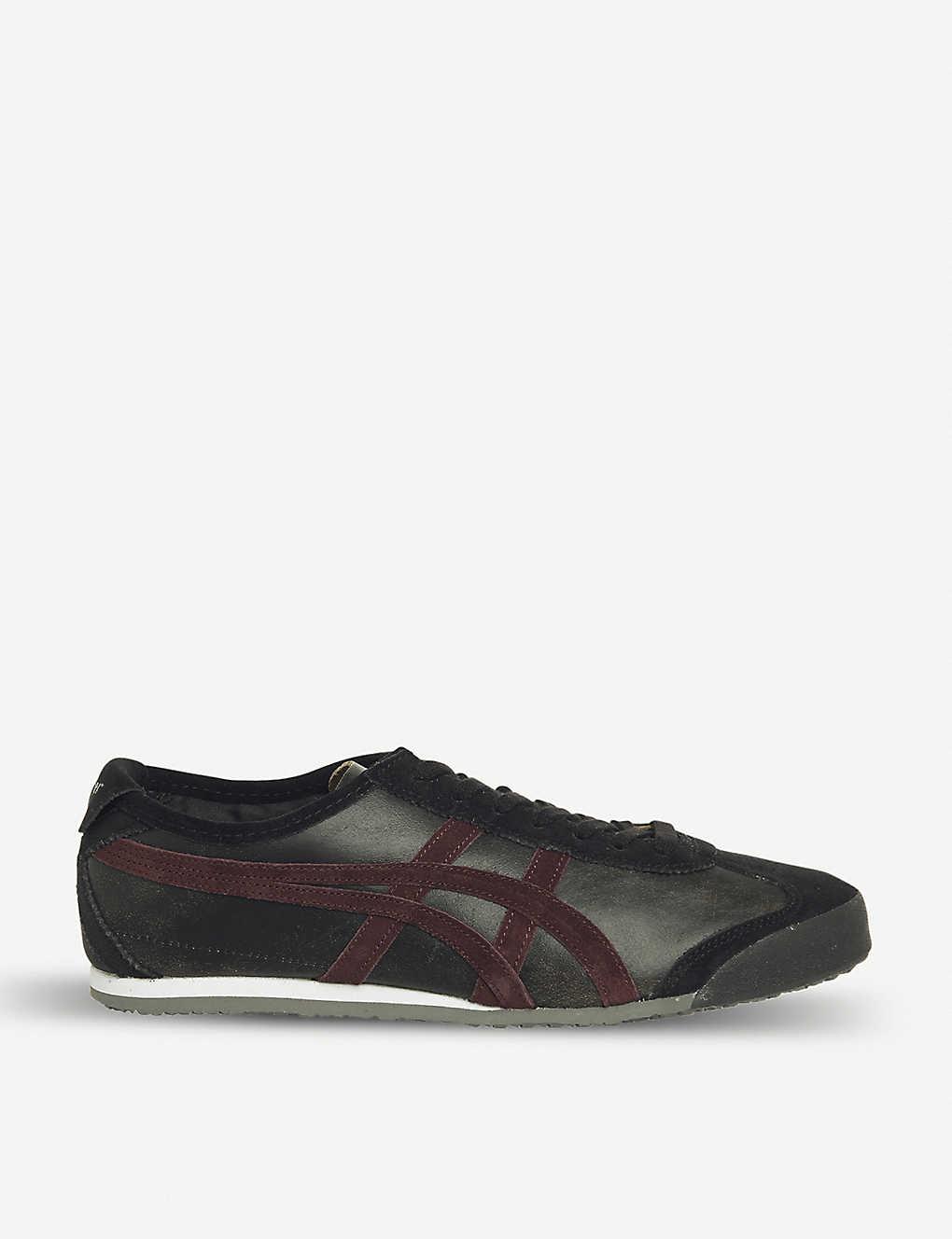 hot sale online 9d927 2eb3c ASICS - Mexico 66 leather trainers | Selfridges.com