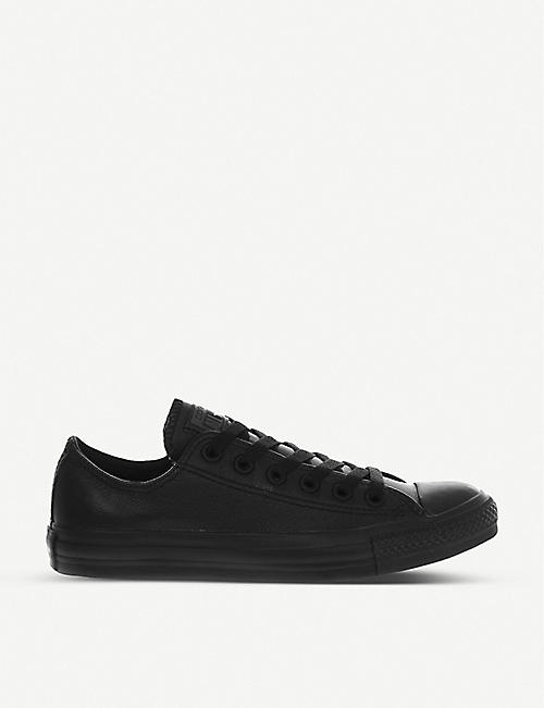e29a565bbf7f CONVERSE All Star low-top leather trainers