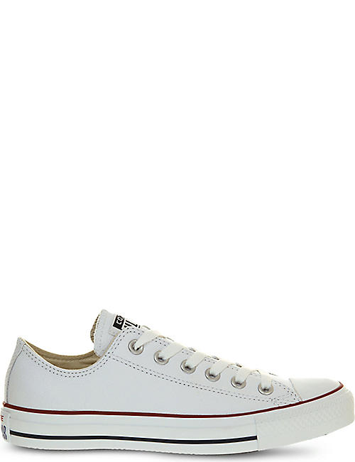 CONVERSE All Star low-top leather trainers 9e37a5b579d52