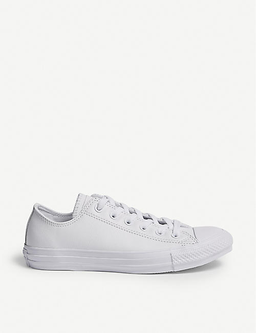 CONVERSE All Star low-top leather trainers 70955f89e3