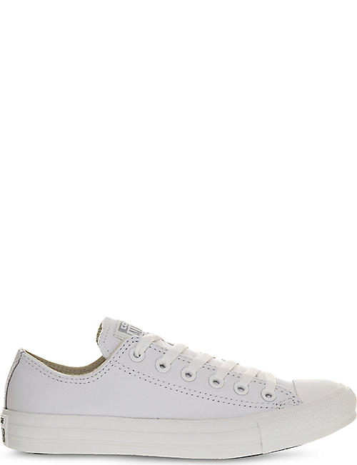 CONVERSE All Star low-top leather trainers 89410388690f