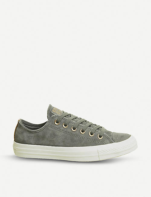 c1014086af38 CONVERSE All-Star suede trainers