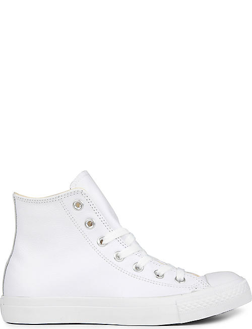 a2abfa226ec4 CONVERSE All Star leather high-top trainers