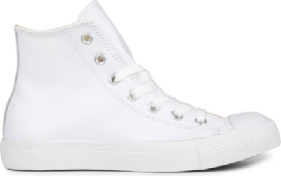 CONVERSE All Star leather high-top trainers