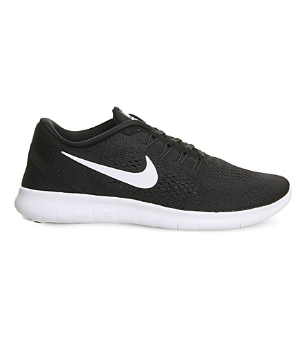 917e0f0610d NIKE Free Run flyknit trainers (Black+white