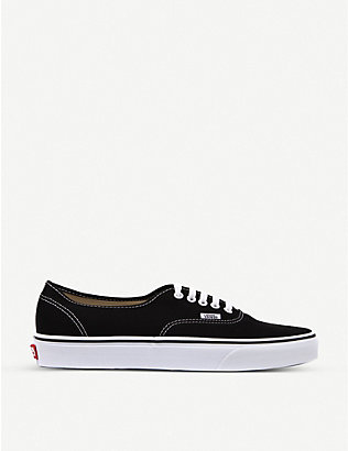 VANS: Authentic low-top trainers