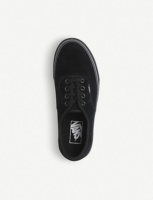 VANS Authentic platform canvas trainers