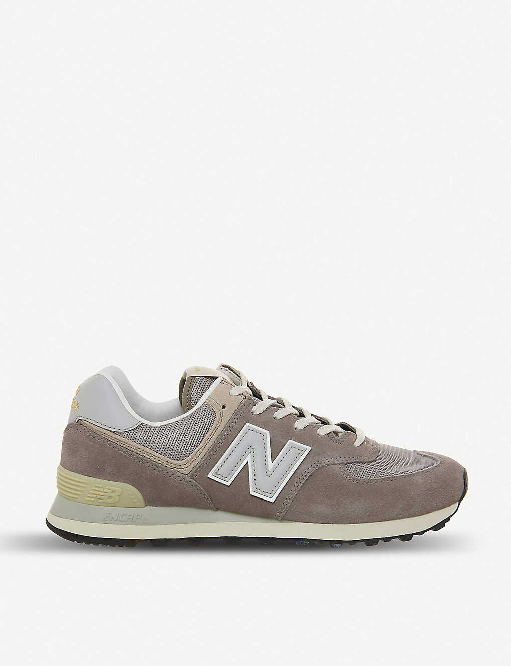 buy popular 99778 f154a NEW BALANCE - 574 suede and mesh trainers   Selfridges.com