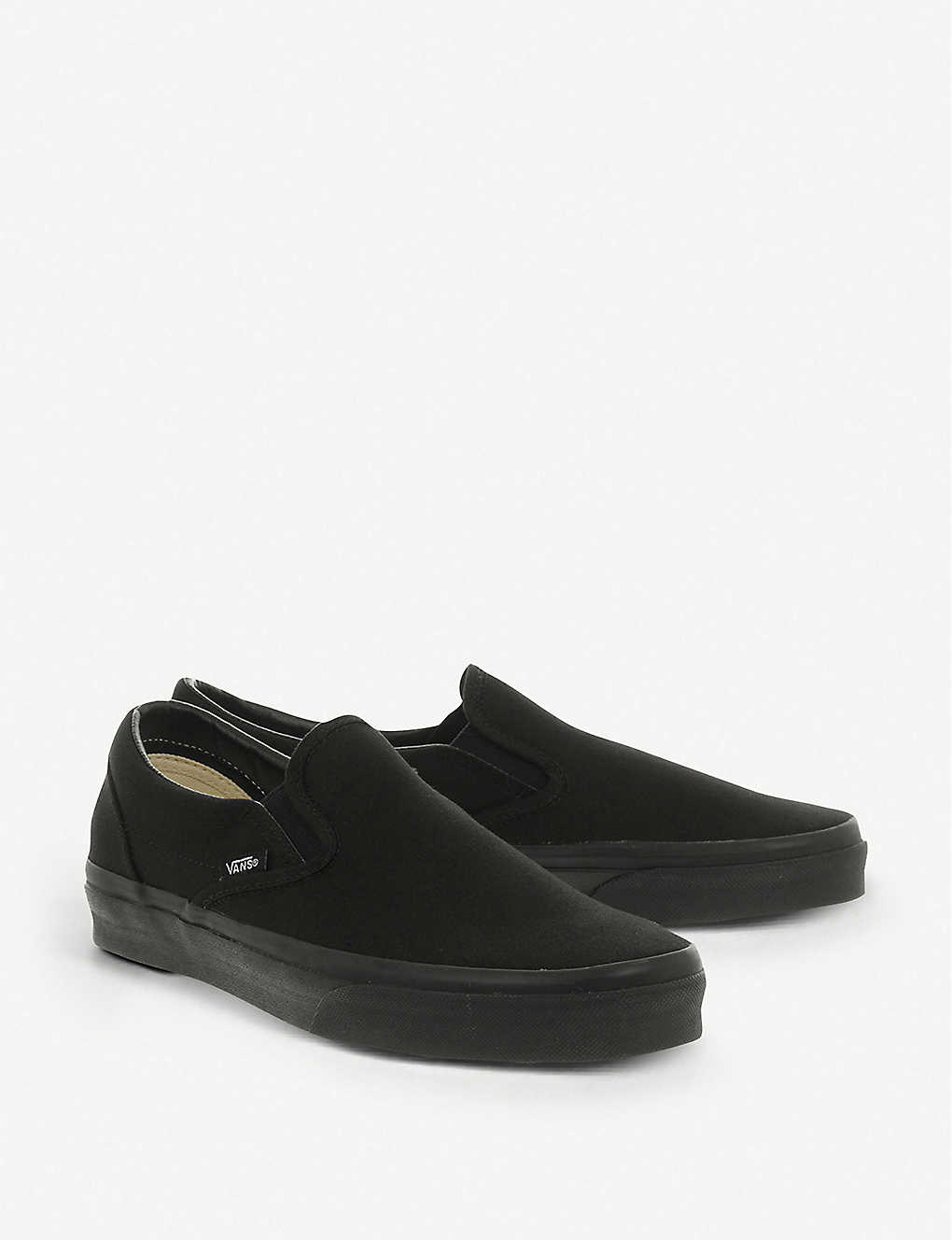 57d7d79c450694 ... Classic slip-on trainers - Black mono ...