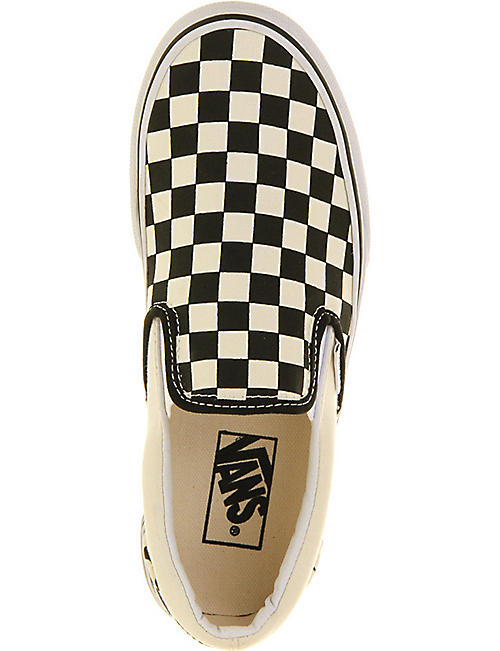 VANS Checked canvas trainers