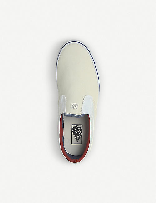 VANS Classic Outside In slip-on canvas trainers