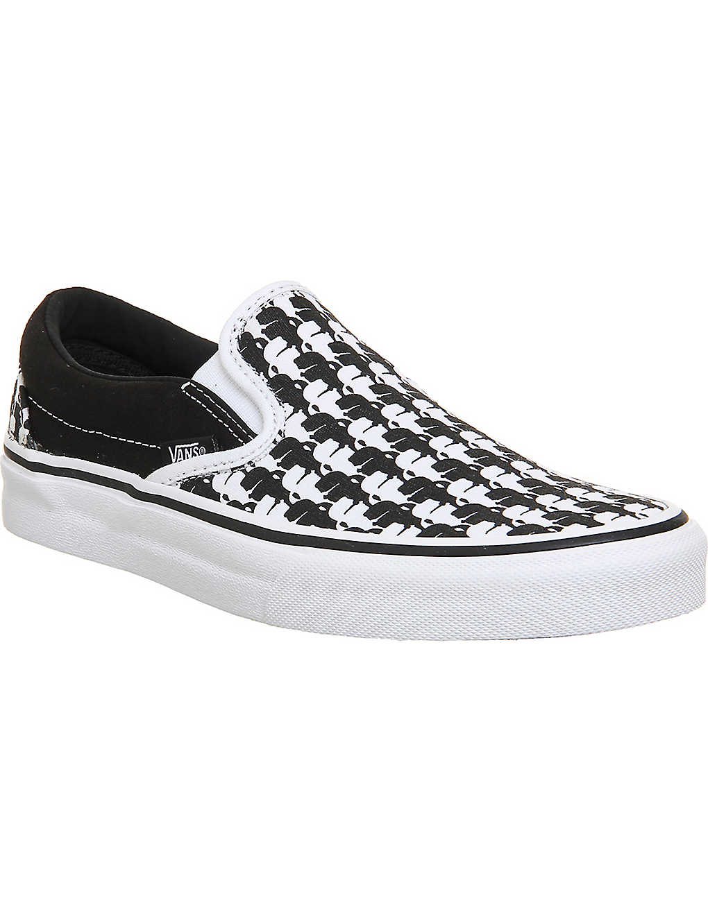 7a490705be VANS - Vans x Karl Lagerfeld Classic canvas slip-on trainers ...
