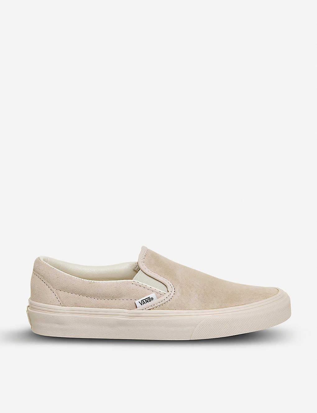 2ee5cd767f VANS - Classic slip-on suede skate shoes | Selfridges.com