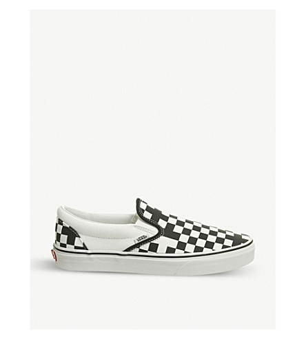 9244409c51c906 ... VANS Classic checkerboard canvas skate shoes (Black+true+white.  PreviousNext