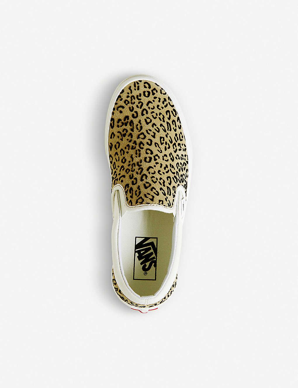 48cb0358e1 ... Classic leopard print canvas slip-on trainers - Leopard taffy ...