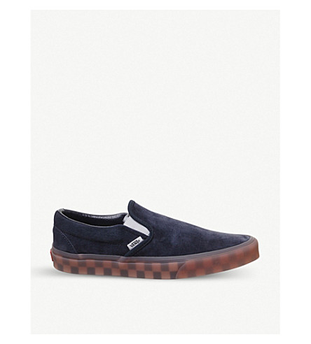 b8c6ae506f VANS Classic slip on suede skate shoes (Parisian+night