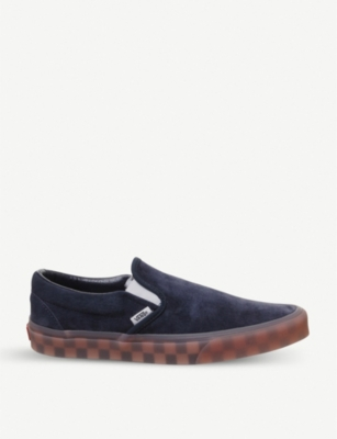 VANS Classic slip on suede skate shoes