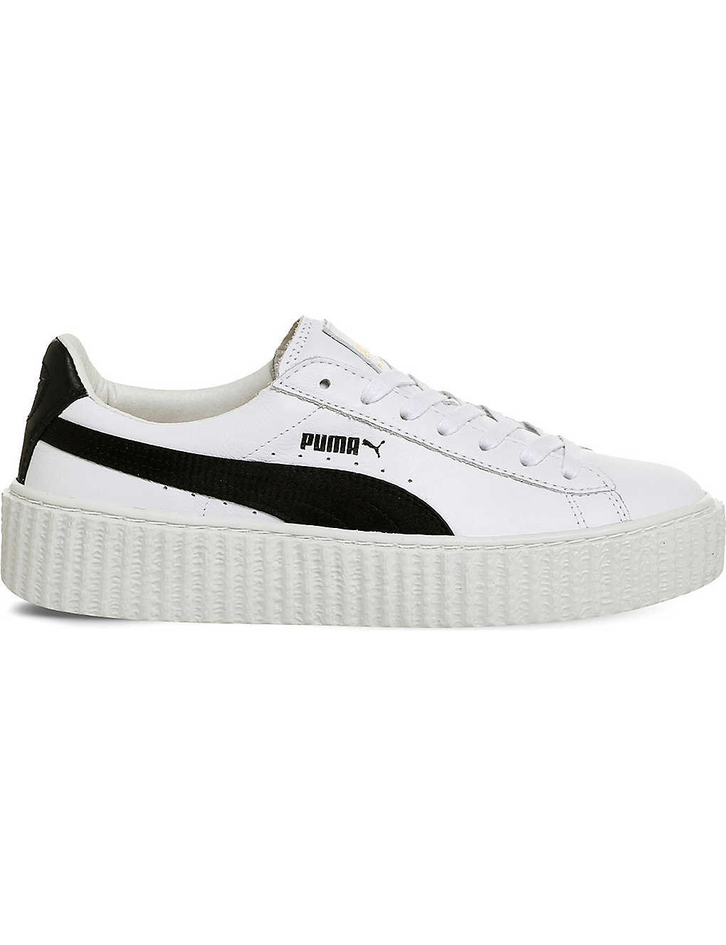 reputable site 38960 a612f PUMA - Basket Creeper leather trainers | Selfridges.com