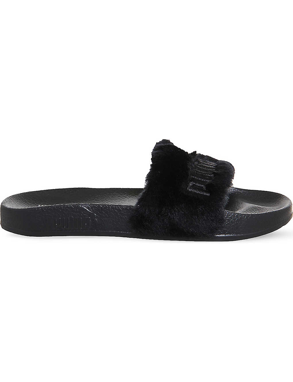 16d0fe75e36f ... PUMA x Fenty faux-fur leadcat sliders zoom ...