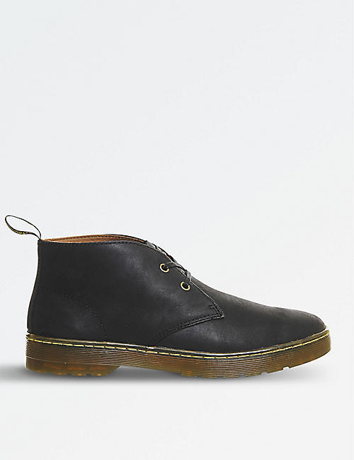 DR. MARTENS: Cabrillo Wyoming leather desert boots
