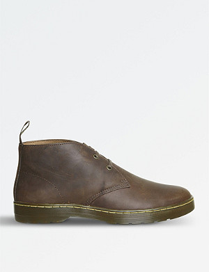 DR. MARTENS Cabrillo Crazy Horse leather desert boots