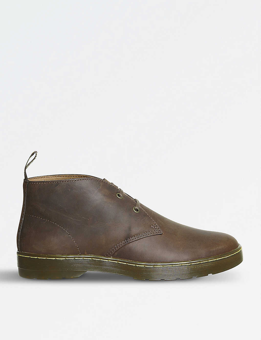 DR. MARTENS: Cabrillo Crazy Horse leather desert boots