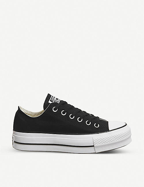 a6b72d931236 CONVERSE All Star Low Platform canvas trainers
