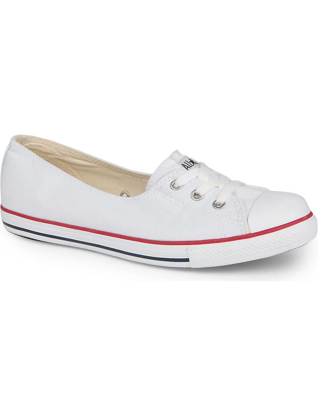 133e77d15b0f CONVERSE - Dance lace low-top trainers