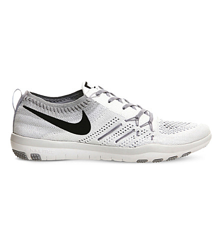 c470c9074b91 NIKE Free TR Focus flyknit trainers (White+black+grey