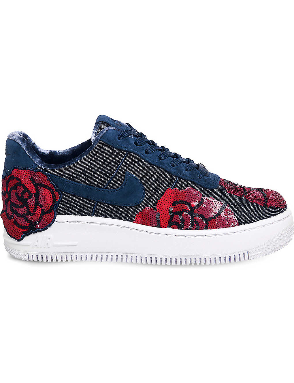 Air Trainers Force 1 Embellished Upstep Lx tsCQrhd
