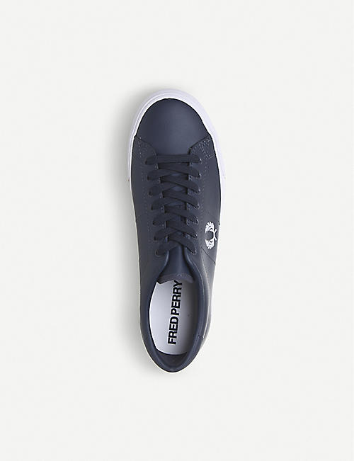FRED PERRY Underspin low-top leather trainers