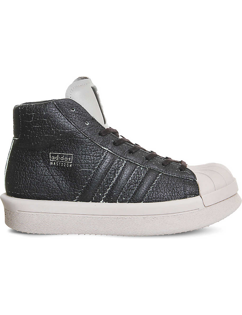 hot sales ca7a5 48b20 ADIDAS X RICK OWENS adidas x Rick Owens Mastodon Pro Model leather trainers