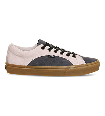 de10be4f6e VANS Lampin suede sneakers (Blue+red+gum