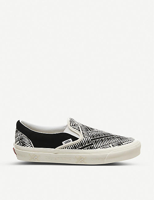 VANS 98 Reissue slip-on canvas trainers