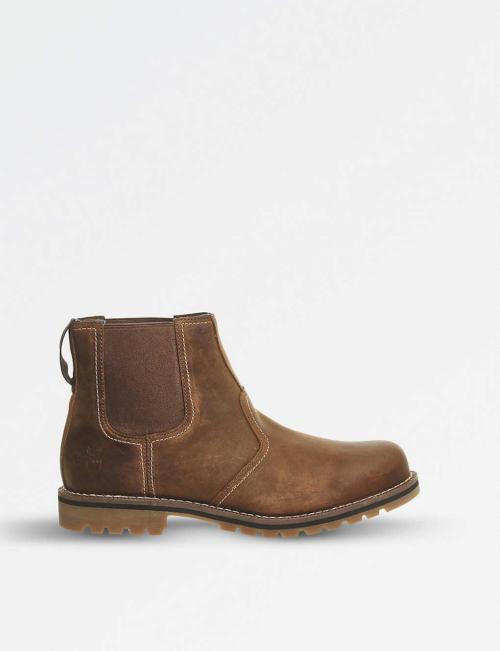 3a1d985e03 Larchmont leather chelsea boots - Oakwood suede ...