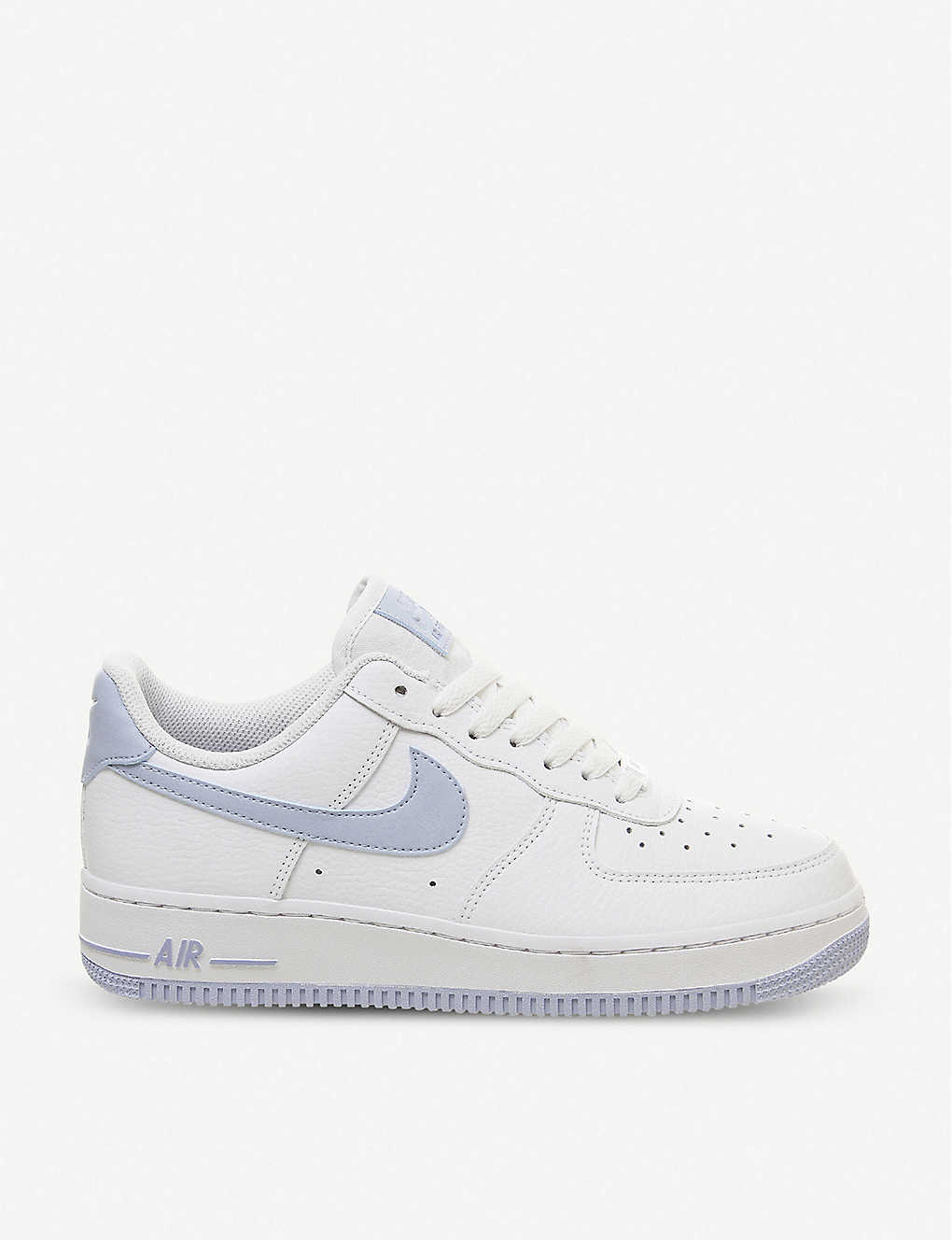 sneakers for cheap 61b46 f96ba Air Force 1 07 leather trainers - White light blue ...